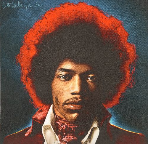 Hendrix, Jimi - Jimi Hendrix  LIMITED EDITION 12 X 12 inch store-display Poster in heavy polypropylene protective sleeve. COLLECTOR'S ITEM! - NM9/ - Poster