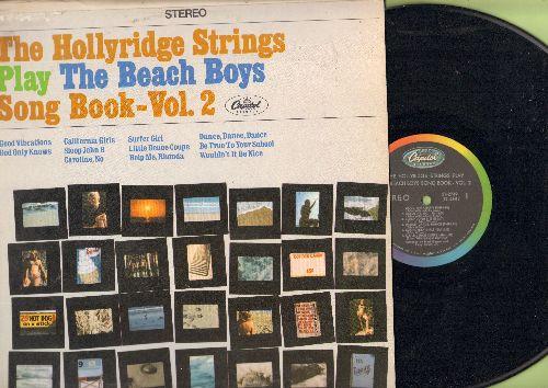 Hollyridge Strings - The Beach Boys Song Book - Vol. 2: Good Vibrations, Surfer Girl, California Girls, Wouldn't It Be Nice, Help Me Rhonda (Vinyl STEREO LP record) - NM9/EX8 - LP Records