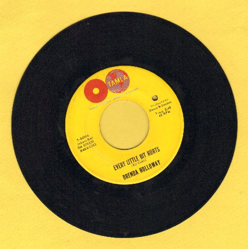 Holloway, Brenda - Land Of A Thousand Boys/Every Little Bit Hurts (bb) - VG6/ - 45 rpm Records
