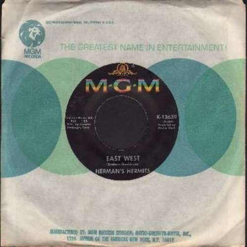 Herman's Hermits - East West/What Is Wrong What Is Right  - EX8/ - 45 rpm Records