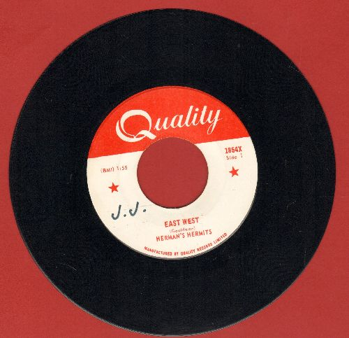 Herman's Hermits - East West/What Is Wrong What Is Right (bb) - NM9/ - 45 rpm Records