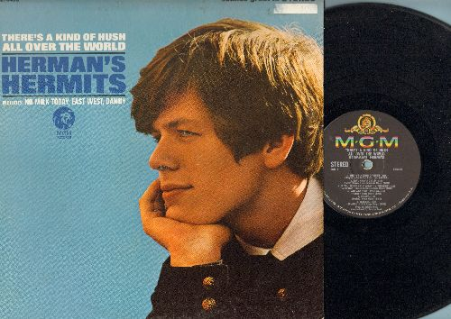 Herman's Hermits - There's A Kind Of Hush All Over The World: No Milk Today, East-West, Dandy, Saturday's Child, If You're Thinking What I'm Thinking (Vinyl STEREO LP record) - EX8/EX8 - LP Records