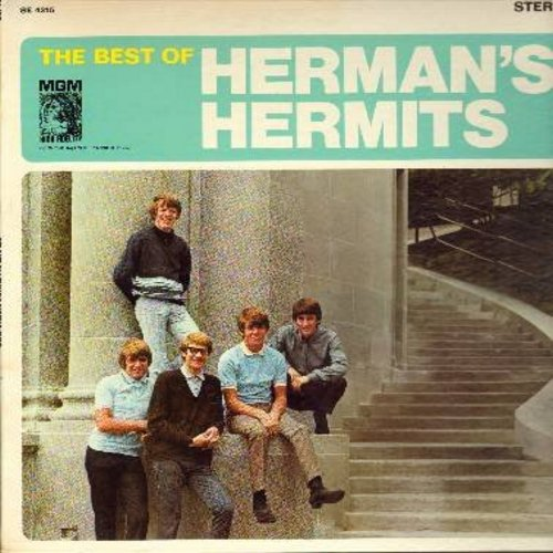 Herman's Hermits - The Best Of: I'm Henry VIII I Am, Mother-In Law, Silhouettes, Wonderful World, Sea Cruise (vinyl STEREO LP record, gate-fold cover) - EX8/VG7 - LP Records