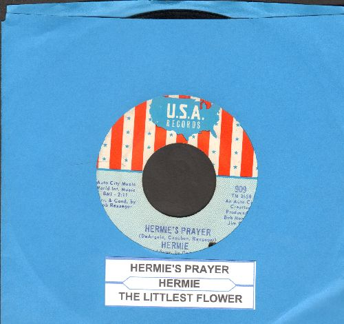 Hermie - Hermie's Prayer/The Littlest Flower (with juke box label) (bb) - EX8/ - 45 rpm Records