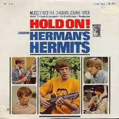 Herman's Hermits - Hold On!: Music from the original Sound Track incl. Leaning On The Lamp Post, A Must To Avoid, Make Me Happy (with Shelley Fabares) (Vinyl STEREO LP record, SEALED, never opened!) - SEALED/SEALED - LP Records