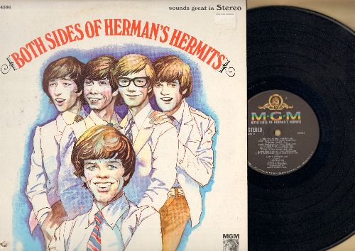 Herman's Hermits - Both Sides Of Herman's Hermits: This Door Swings Both Ways, Dial My Number, The Future Mrs. Awkins, For Love, Bus Stop (Vinyl STEREO LP record) - NM9/EX8 - LP Records