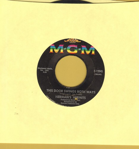 Herman's Hermits - This Door Swings Both Ways/For Love (bb) - VG7/ - 45 rpm Records