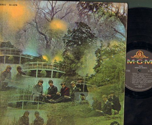 Herman's Hermits - Blaze: Museum, Last Bus Home, Upstairs Downstairs, Moonshine Man, Busy Line (Vinyl STEREO LP record) - NM9/VG7 - LP Records