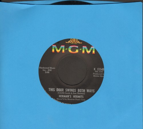 Herman's Hermits - This Door Swings Both Ways/For Love (bb) - NM9/ - 45 rpm Records