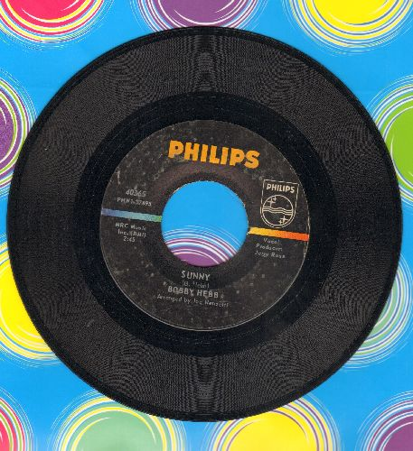 Hebb, Bobby - Sunny (Tribute to assassinated President JFK)/Bread  - VG7/ - 45 rpm Records