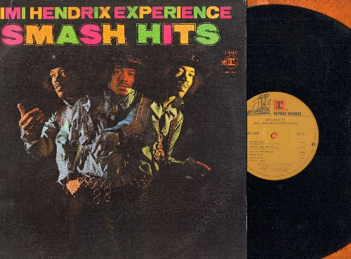 Hendrix, Jimi Experience - Smash Hits: Purple Haze, All Along The watchtower, Foxy Lady, Manic Depression (vinyl STEREO LP record, 2nd pressing) - NM9/EX8 - LP Records