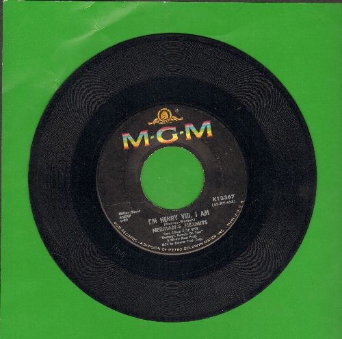 Herman's Hermits - I'm Henry VIII, I Am/The End Of The World  - VG7/ - 45 rpm Records