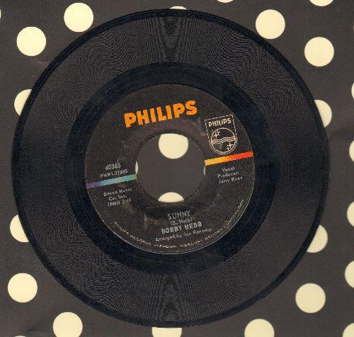 Hebb, Bobby - Sunny (Tribute to assassinated President JFK)/Bread  - EX8/ - 45 rpm Records