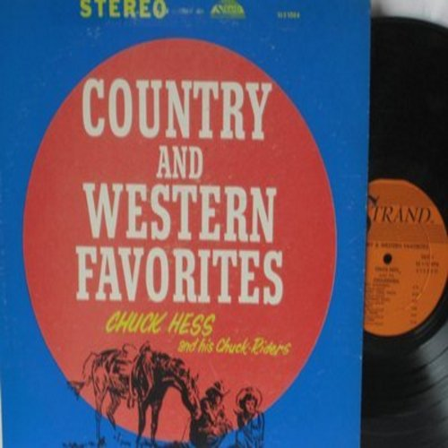 Hess, Chuck & His Chuckriders - Country & Western Favorites: Jet Flight, Crying Angel, Tropicana, Sad Guitar, Pony Boy Rock, Baby Elephant Dance (Vinyl STEREO LP record) - NM9/VG7 - LP Records