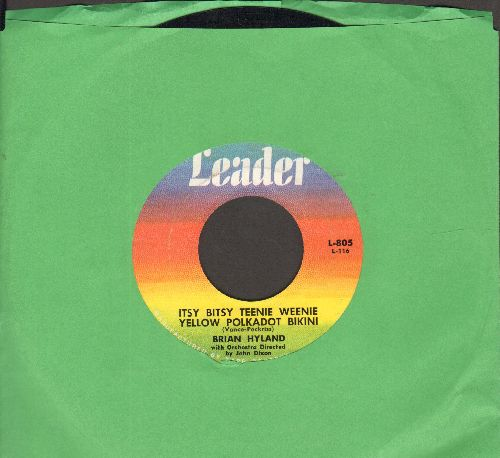 Hyland, Brian - Itsy Bitsy Teenie Weenie Yellow Polkadot Bikini/Don't Dilly Dally, Sally (Original first issue) - NM9/ - 45 rpm Records