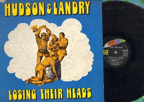 Hudson & Landry - Losing Their Heads: Obscene Phone Bust, Ajax Airlines, Astro Nut, Ajaz Travel Bureau, Sir Basil - EX8/EX8 - LP Records