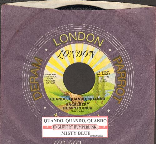 Humperdinck, Engelbert - Quando, Quando, Quando (early double-hit re-issue with company sleeve with juke box label) - NM9/ - 45 rpm Records