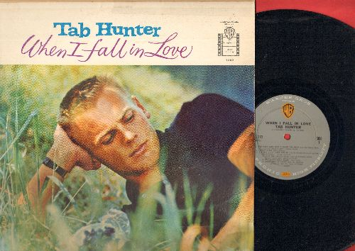 Hunter, Tab - When I Fall In Love: You Must Have Been A Beautiful Baby, Bye Bye Baby, I Hadn't Anyone 'Til You (vinyl MONO LP record) - EX8/VG7 - LP Records