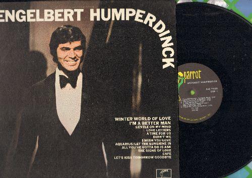 Humperdinck, Engelbert - Engelbert Humperdinck: Gentle On My Mind, Didn't We, Aquarius/Let The Sunshine In, A Time For Us, Love Letters (vinyl STEREO LP record) - NM9/EX8 - LP Records