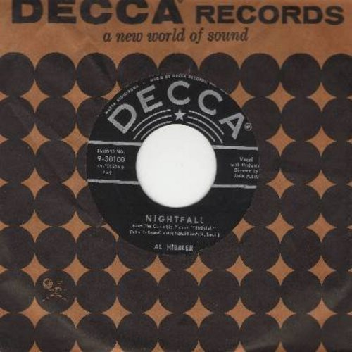 Hibbler, Al - Nightfall/I'm Free (with Decca company sleeve) - EX8/ - 45 rpm Records