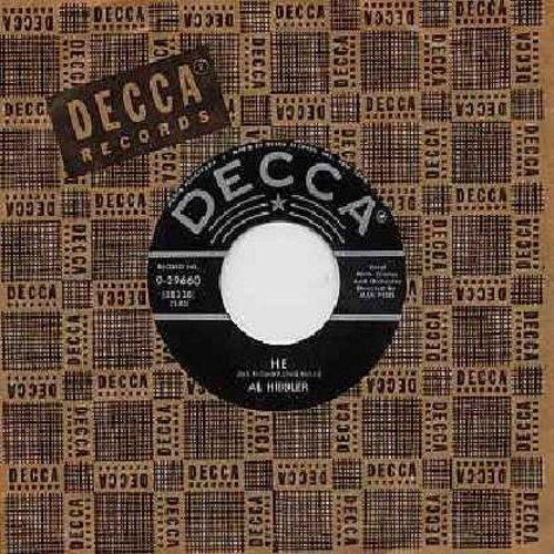 Hibbler, Al - He/Breeze (with Decca company sleeve) - EX8/ - 45 rpm Records