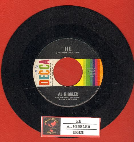 Hibbler, Al - He/Breeze (with juke box label) - EX8/ - 45 rpm Records
