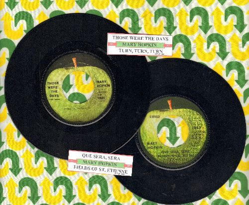 Hopkin, Mary - 2 for 1 Special: Those Were The Days/Que Sera, Sera (2 vintage first issue 45rpm records with juke box labels for the price of 1!) - EX8/ - 45 rpm Records