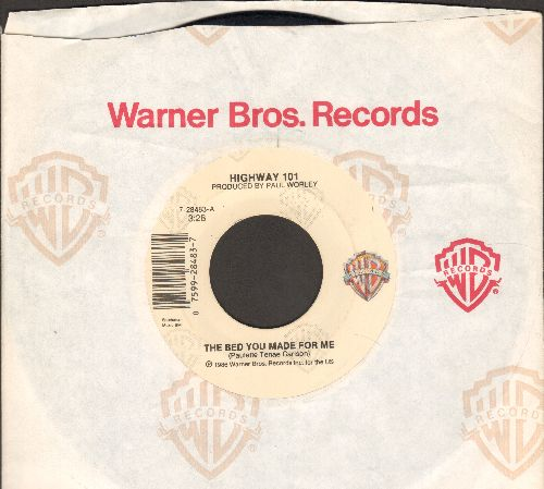 Highway 101 - The Bed You Made For Me/I'm Gonna Run Through The Wind (with Warner Brothers company sleeve) - EX8/ - 45 rpm Records
