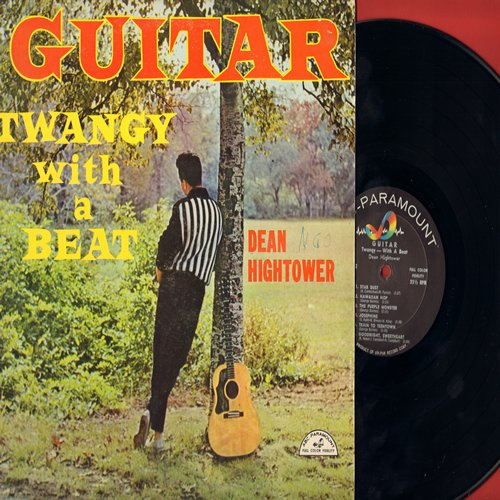 Hightower, Dean - Guitar - Twangy With A Beat: Sweet Georgia Brown, The Purple Monster, Train To Teen Town, Goodnight Sweetheart (Vinyl MONO LP record) - NM9/EX8 - LP Records