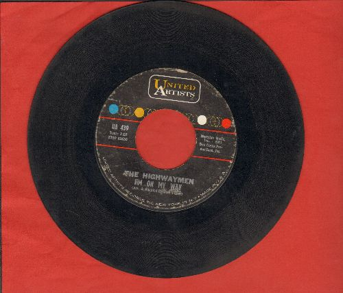 Highwaymen - Whiskey In A Jar/I'm On My Way - VG6/ - 45 rpm Records