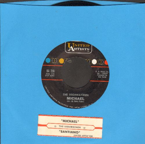 Highwaymen - Michael/Santiago (with juke box label) - NM9/ - 45 rpm Records