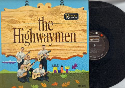 Highwaymen - The Highwaymen: Michael, Cindy O Cindy, Take This Hammer, Au Claire De La Lune (vinyl MONO LP record) - EX8/NM9 - LP Records