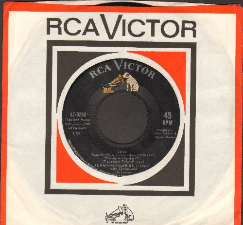 Hirt, Al - Java/I Can't Get Started (with vintage RCA company sleeve) - NM9/ - 45 rpm Records