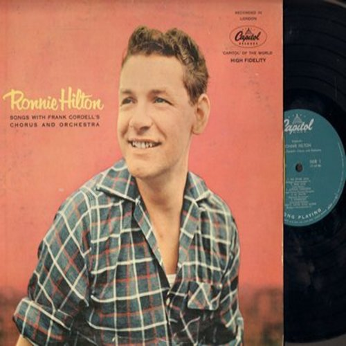 Hilton, Ronnie - Ronnie Hilton: True Love, My Prayer, My Blue Heaven, You're My Everything (Vinyl MONO LP record) - NM9/VG6 - LP Records