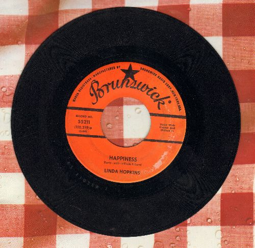 Hopkins, Linda - Happiness/I Don't Know You Anymore - VG7/ - 45 rpm Records