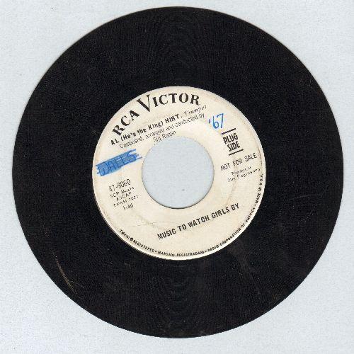 Hirt, Al - Music To Watch Girls By/His Girl (DJ advance pressing) - VG7/ - 45 rpm Records