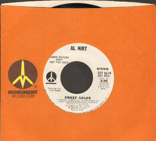 Hirt, Al - Sweet Sauce (double-A-sided DJ advance pressing with Monument company sleeve) - NM9/ - 45 rpm Records