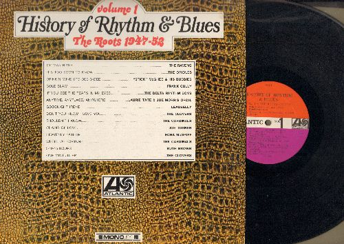 Ravens, Edna McGriff, Clovers, Ruth Brown, others - History Of Rhythm & Blues Vol. 1 - The Roots 1947-52: Ol' Man River, One Mint Julip, Heavenly Father, Cole Slaw (vinyl MONO LP record) - EX8/EX8 - LP Records