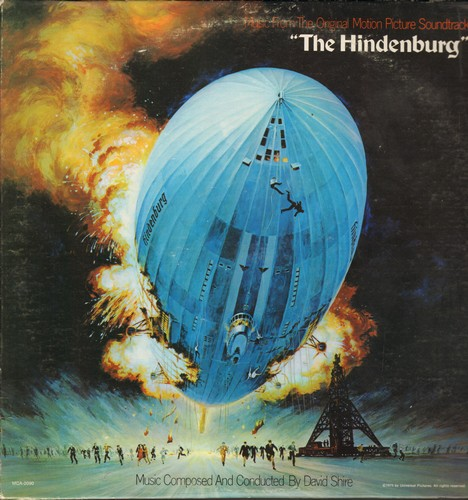 The Hindenburg - The Hindenburg - Original Motion Picture Sound Track, music composed and conducted by David Shire (Vinyl LP record) - M10/VG7 - LP Records