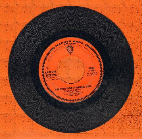 Harpers Bizarre - The 59th Street Bridge Song/Lost My Love Today  - NM9/ - 45 rpm Records