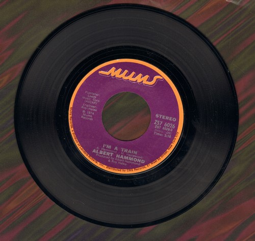 Hammond, Albert - I'm A Train/Brand New Day  - M10/ - 45 rpm Records