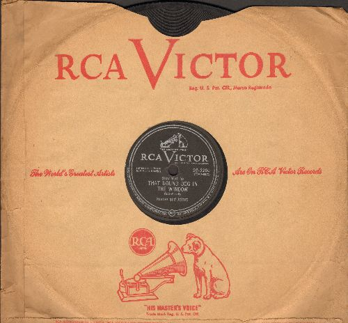 Homer & Jethro - (How Much Is) That Hound Dog In The Window/Pore Ol' Koo-Liger (10 inch 78 rpm record with RCA company sleeve) - VG6/ - 78 rpm