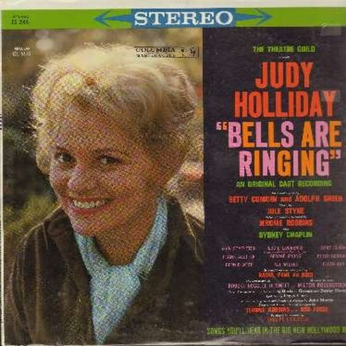 Holliday, Judy - Bells Are Ringing: Theatre Guild Presents A New Musical (Vinyl STEREO LP record, SEALED, never opened!) - SEALED/SEALED - LP Records
