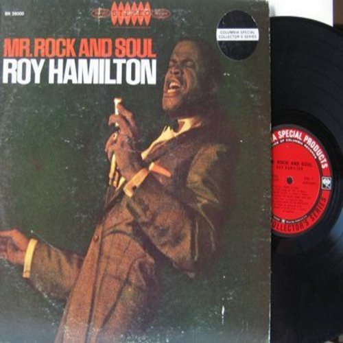 Hamilton, Roy - Mr. Rock And Soul: Mama Don't Allow It, Cheatin' On Me, When You're Smiling (The Whole World Smiles With You), That's All Right (Vinyl MONO LP record, Columbia Special Products pressing) - NM9/VG7 - LP Records