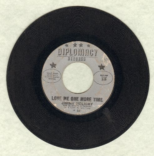 Holiday, Jimmy - Love Me One More Time/The New Breed (RARE Vintage Soul 2-sider!) - VG6/ - 45 rpm Records