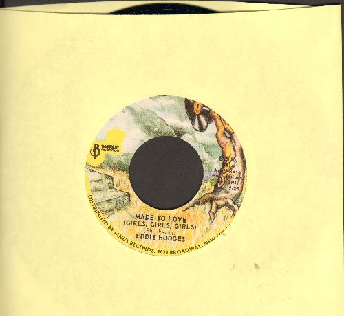 Hodges, Eddie - Made To Love (Girls, Girls, Girls)/I'm Gonna Knock On Your Door (double-hit re-issue) - M10/ - 45 rpm Records