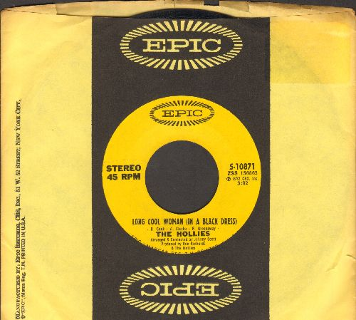 Hollies - Long Cool Woman (in A Black Dress)/Look What We've Got (with Epic company sleeve) - EX8/ - 45 rpm Records