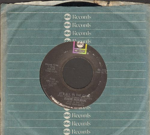 Holman, Eddie - It's All In The Game/Hey There Lonely Girl (with ABC company sleeve) - EX8/ - 45 rpm Records