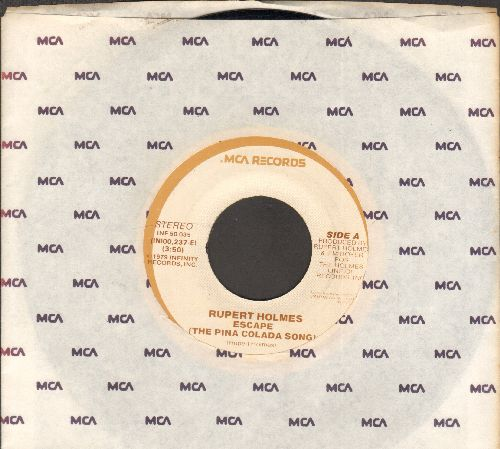 Holmes, Rupert - Escapade (If You Like Pina Colada)/Drop It (re-issue) (wol) (sol) - NM9/ - 45 rpm Records