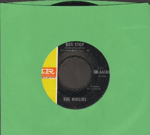 Hollies - Bus Stop/Don't Run And Hide - VG7/ - 45 rpm Records